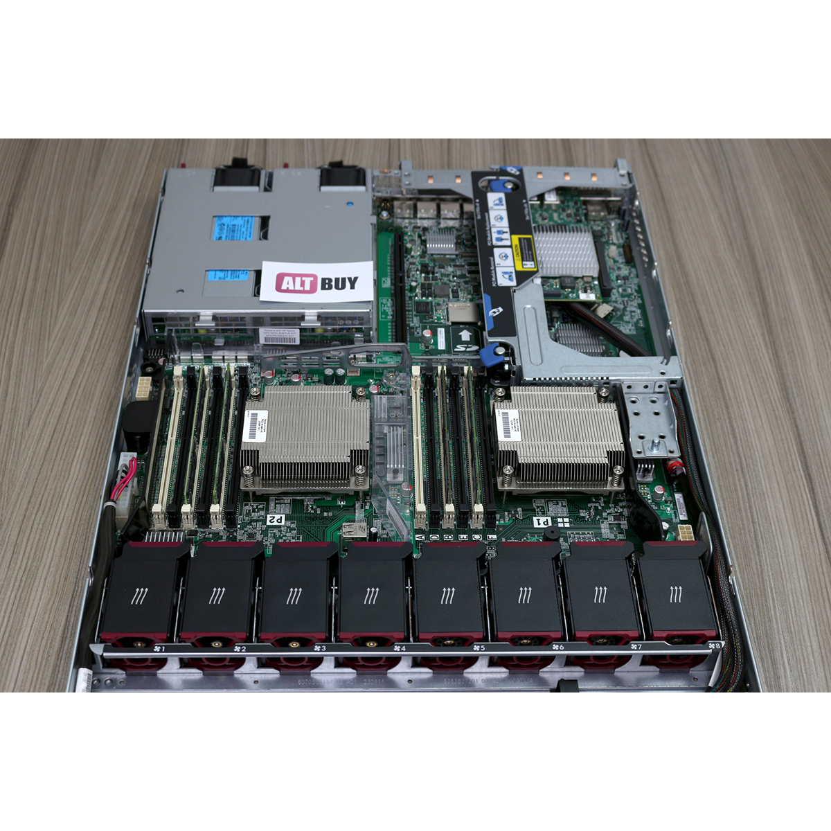 HP Proliant DL360E Gen8 1U 8xSFF (Б/У)